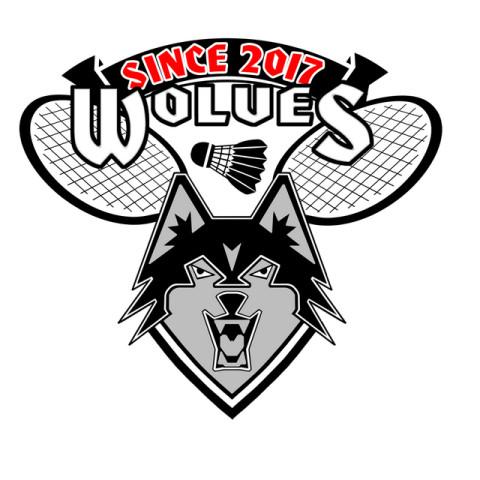 Wolves Badminton logo