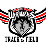 Wolves Track and Field logo