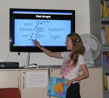 childrens book presentation - victoria
