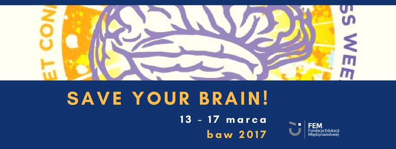 save your brain! - FB event header