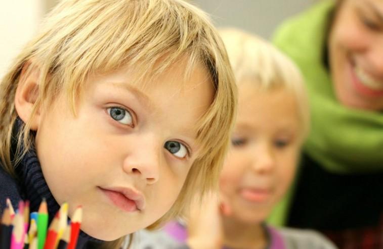 portret dziecka - rekrutacja do szkoły ATUT
