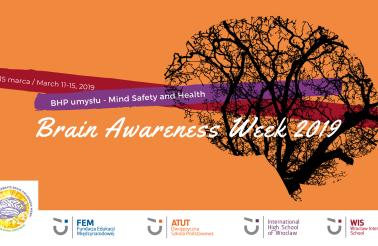 Brain Awareness Week 2019 - plakat