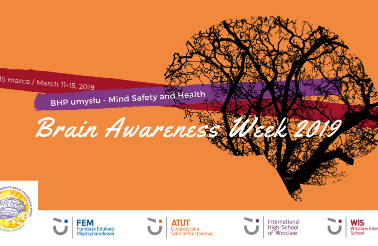 Brain Awareness Week 2019 - plakat