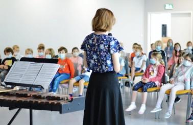 audycja muzyczna NFM w szkole ATUT